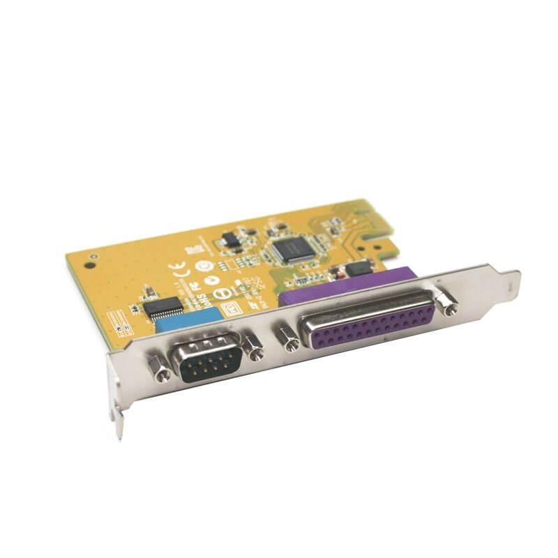 Adaptoare PCIe la 1 x Port Serial + 1 x Port Paralel
