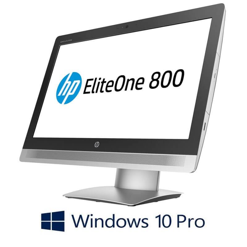 All-in-One Touchscreen HP EliteOne 800 G2, i5-6500, Full HD IPS, Win 10 Pro