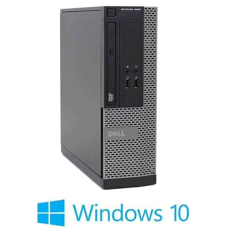 Calculatoare Dell OptiPlex 3020 SFF, Quad Core i5-4570, 240GB SSD NOU, Win 10 Home