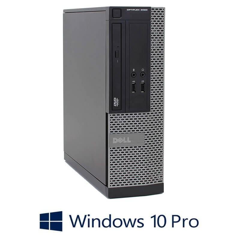 Calculatoare Dell OptiPlex 3020 SFF, Quad Core i5-4570, 240GB SSD NOU, Win 10 Pro