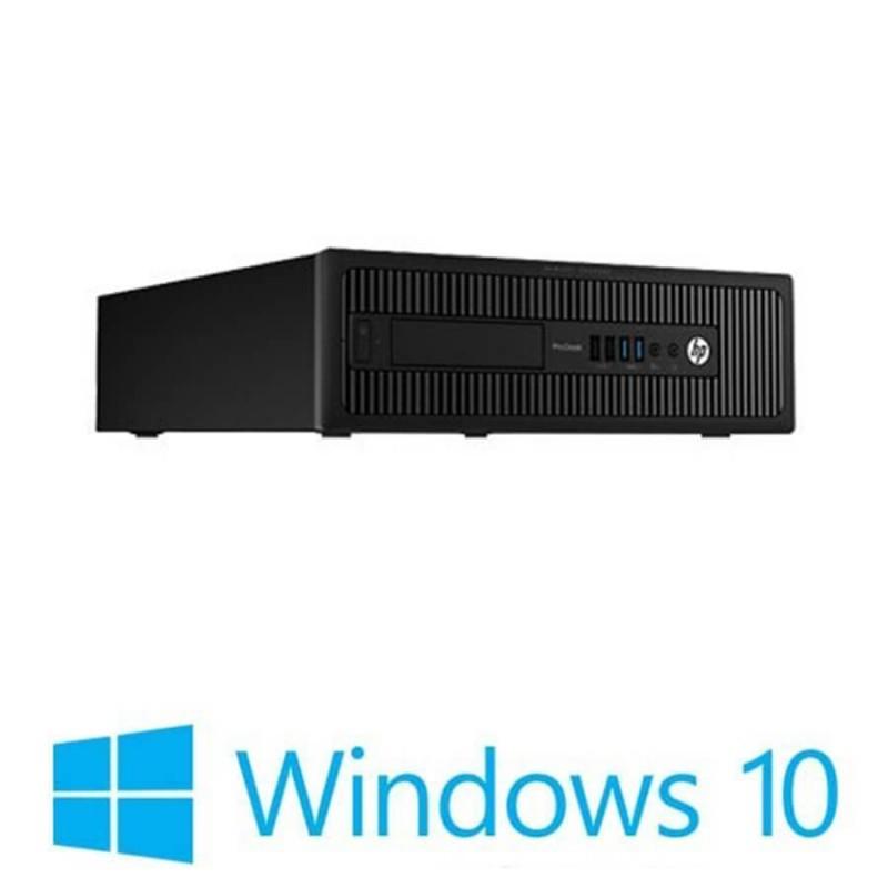 Calculatoare Refurbished HP Prodesk 600 G1 SFF, i5-4570, 8GB, Win 10 Home
