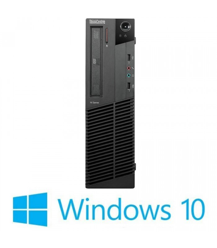 Calculatoare Refurbished Lenovo ThinkCentre M92P DT, i5-3470, Win 10 Home