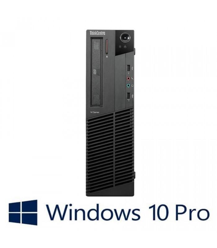 Calculatoare Refurbished Lenovo ThinkCentre M92P DT, i5-3470, Win 10 Pro