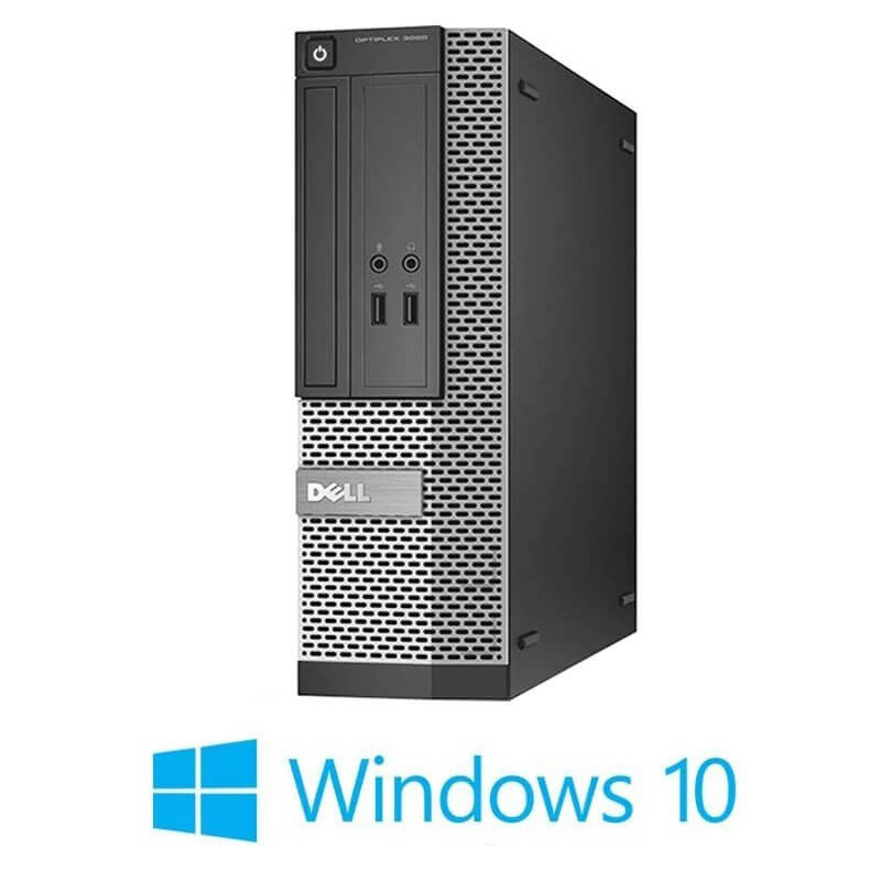 Calculator Dell OptiPlex 3020 SFF, Quad Core i5-4570, 8GB RAM, Windows 10 Home
