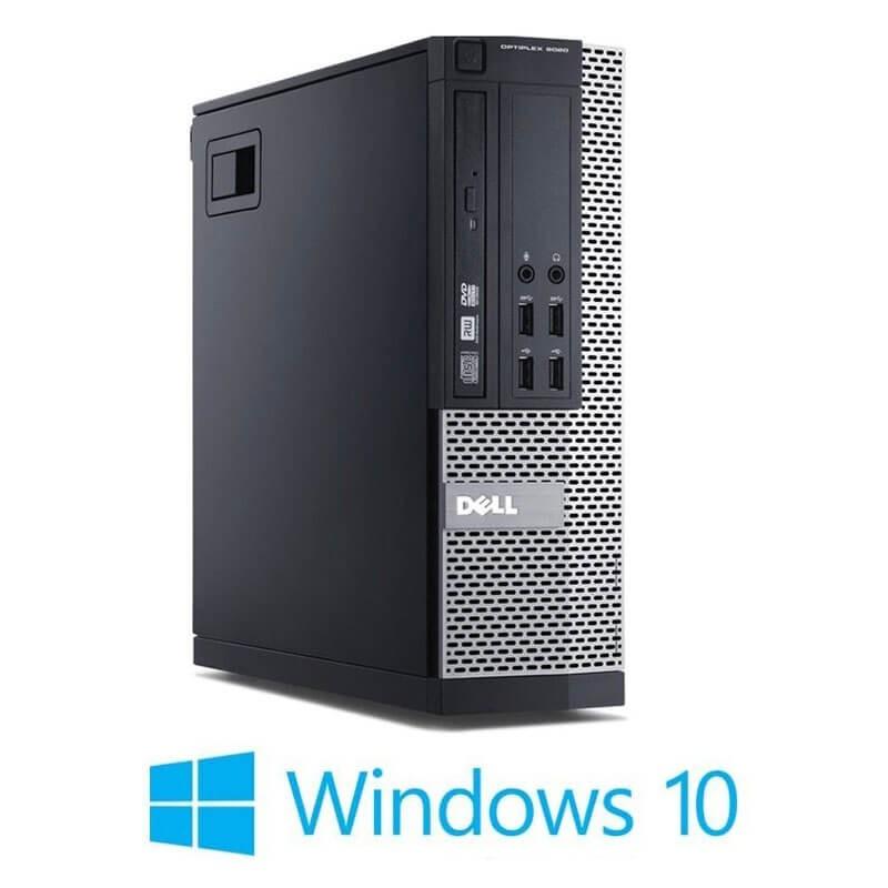 Calculator Dell OptiPlex 9020 SFF, Quad Core i5-4570, 240GB SSD NOU, Win 10 Home