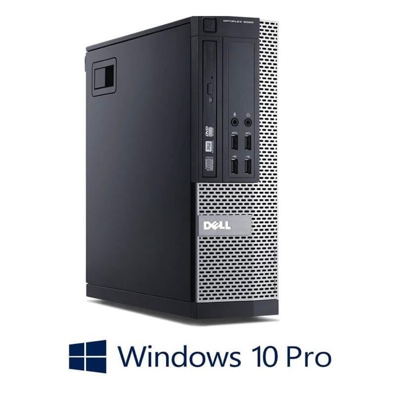 Calculator Dell OptiPlex 9020 SFF, Quad Core i5-4570, 240GB SSD NOU, Win 10 Pro