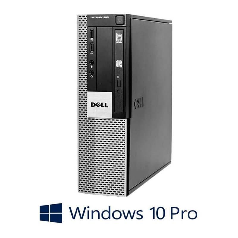 Calculator Dell Optiplex 960 SFF, Core 2 Duo E8400, Windows 10 Pro