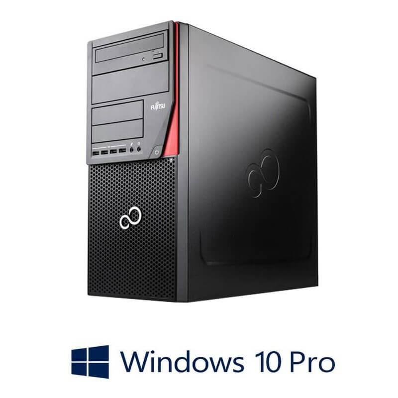 Calculator Fujitsu ESPRIMO P720, Quad Core i7-4790, 256GB SSD NOU, Win 10 Pro