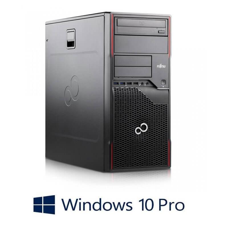 Calculator Fujitsu ESPRIMO P910, Intel Core G2120, 240GB SSD NOU, Win 10 Pro
