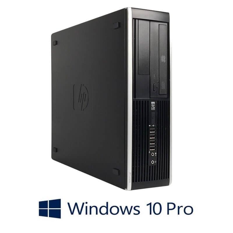 Calculator HP Compaq 8200 Elite SFF, Core i5-2400, 240GB SSD NOU, Win 10 Pro