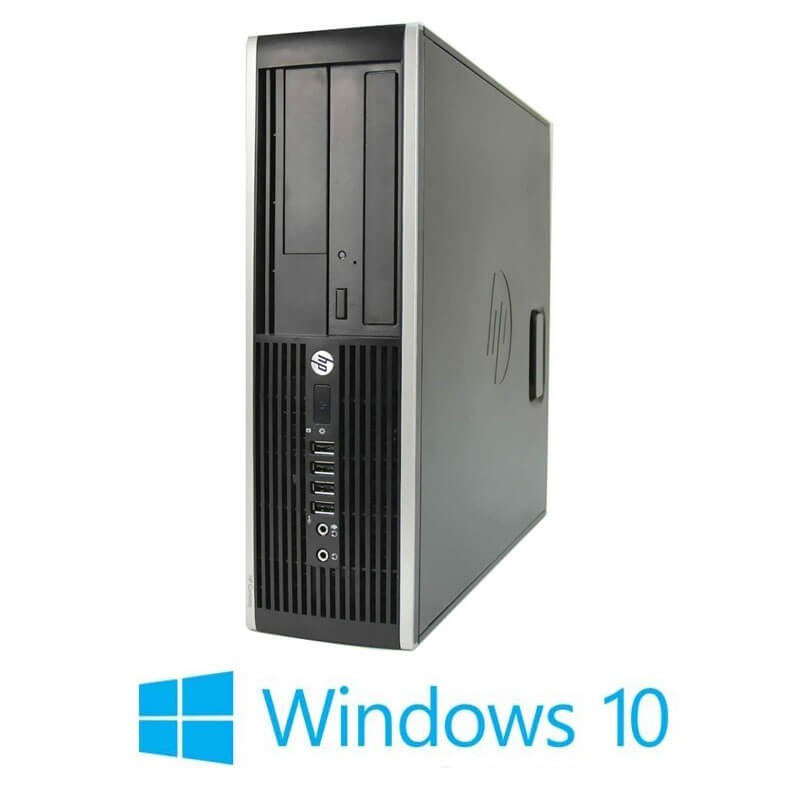 Calculator HP Compaq 8200 Elite SFF, Intel i3-2120, 240GB SSD NOU, Win 10 Home