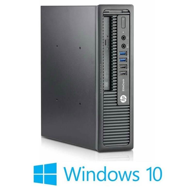 Calculator HP EliteDesk 800 USDT, i5-4670s, Win 10 Home