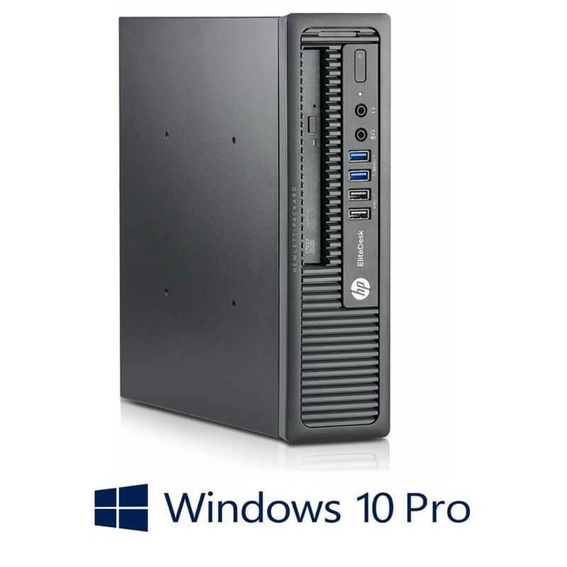 Calculator HP EliteDesk 800 USDT, i5-4670s, Win 10 Pro