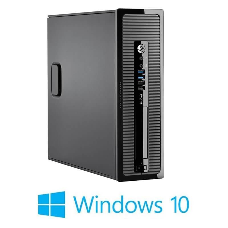 Calculator HP ProDesk 400 G1 SFF, Quad Core i5-4590S, Win 10 Home