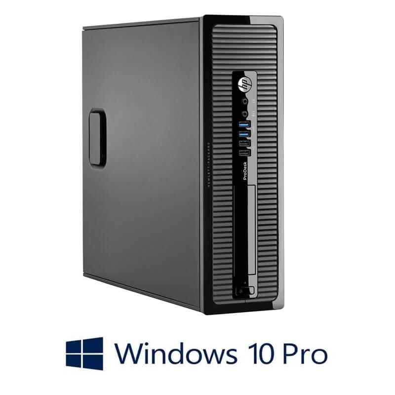 Calculator HP ProDesk 400 G1 SFF, Quad Core i5-4590S, Win 10 Pro