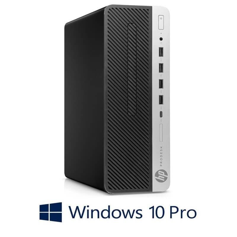 Calculator HP ProDesk 600 G4 SFF, Hexa Core i7-8700T, 240GB SSD, Win 10 Pro