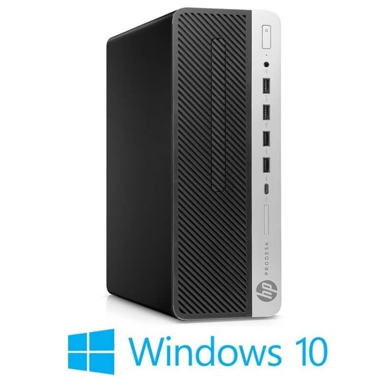 Calculator HP ProDesk 600 G5 SFF, Hexa Core i7-8700T, 512GB SSD M.2, Win 10 Home