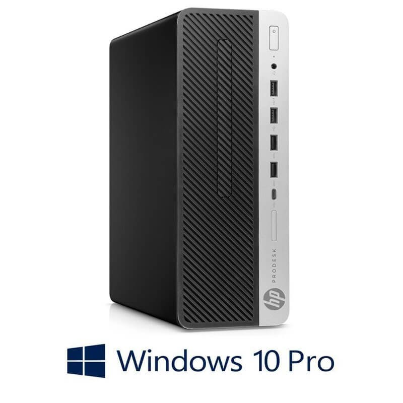 Calculator HP ProDesk 600 G5 SFF, Hexa Core i7-8700T, 512GB SSD M.2, Win 10 Pro