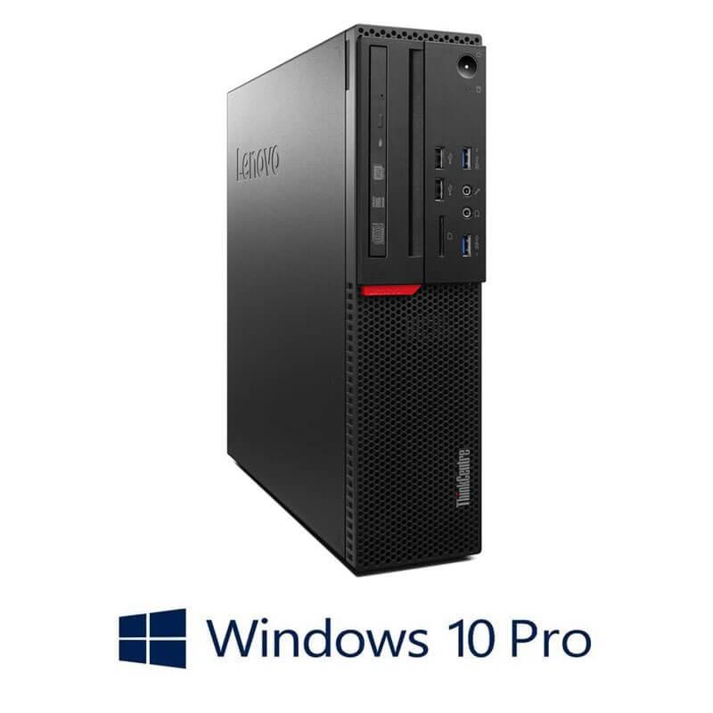 Calculator Lenovo ThinkCentre M800 SFF, i5-6500T, 240GB SSD NOU, Win 10 Pro