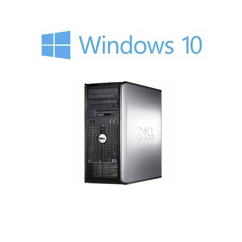 Calculator Refurbished Dell Optiplex 780 MT, Core 2 Duo E7500, Windows 10 Home