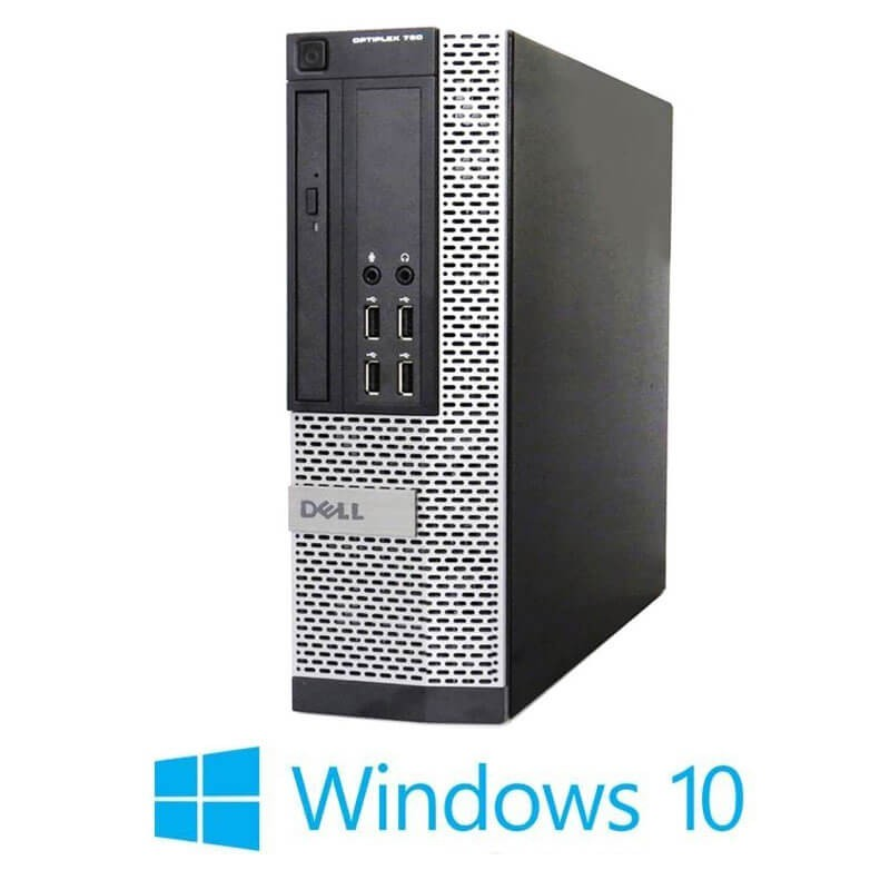 Calculator Refurbished Dell OptiPlex 790 SFF, Intel i5-2400, 8GB RAM, Win 10 Home
