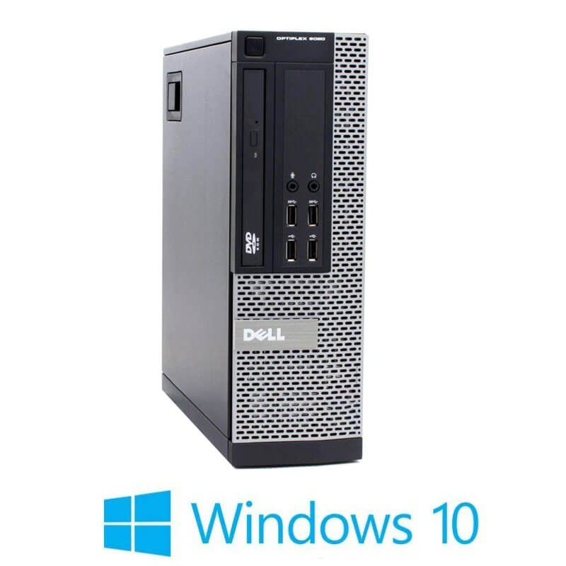 Calculator Refurbished Dell OptiPlex 9020 SFF, i3-4130, 8GB, SSD, Win 10 Home