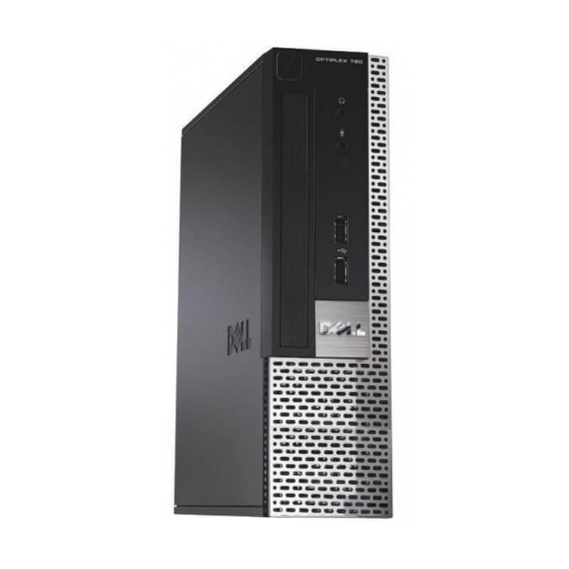 Calculator second hand Dell OptiPlex 780 USFF, Intel Dual Core E6300