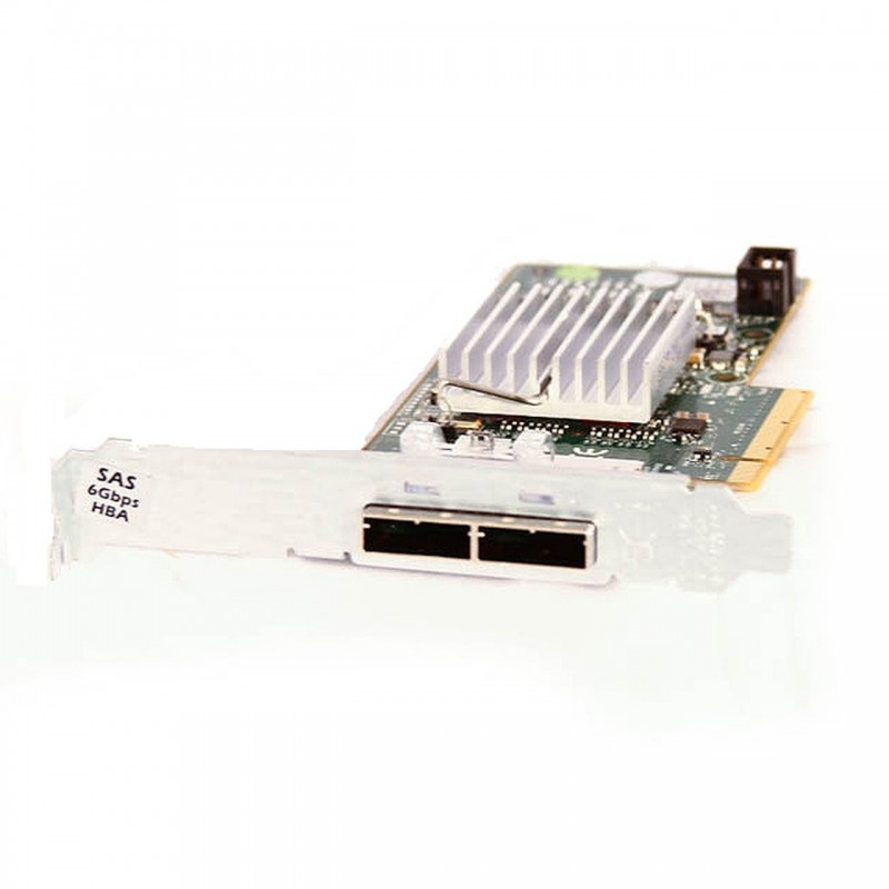 Controller RAID Dual-Port extern HBA SAS/SATA Dell H200E 6GBps