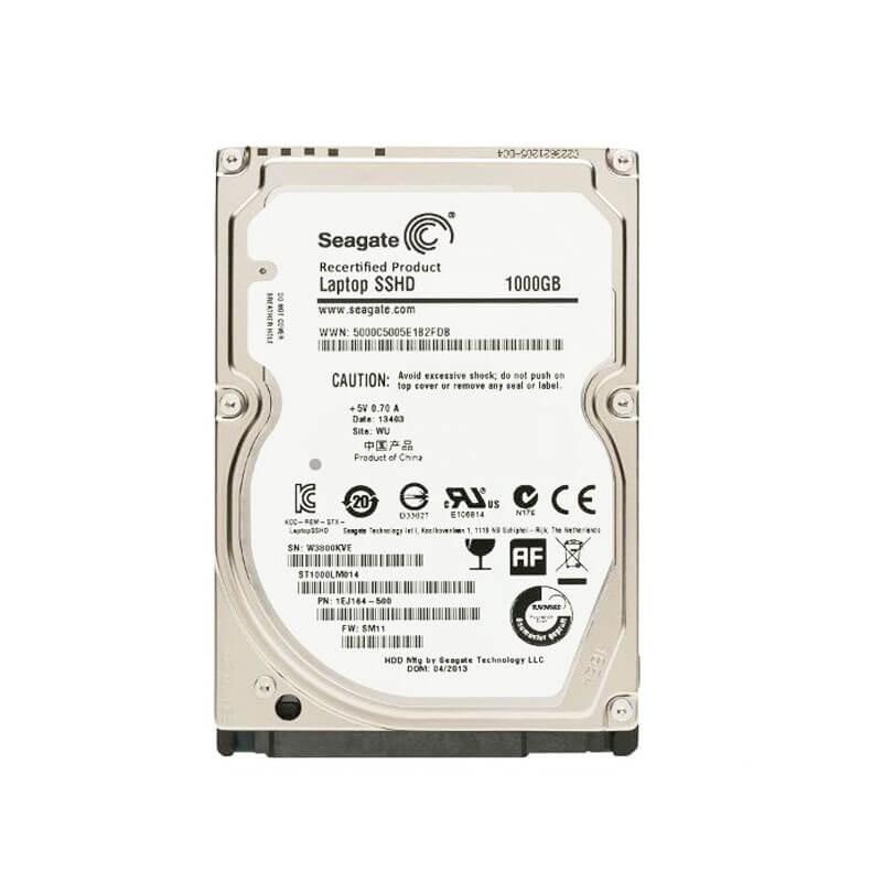 HDD Laptopuri Seagate SSHD ST1000LM014, 1TB SATA3 6Gb/s, 64Mb Cache