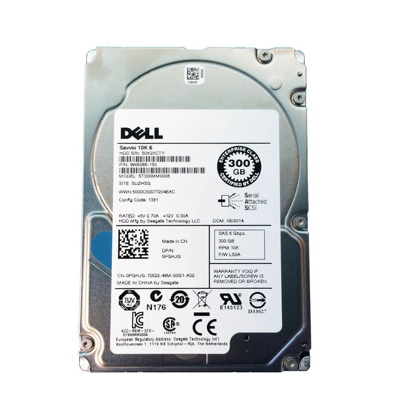 HDD Refurbished Dell 9WE066-150 300GB SAS 6Gbps 2.5 inch, 64 Mb Cache