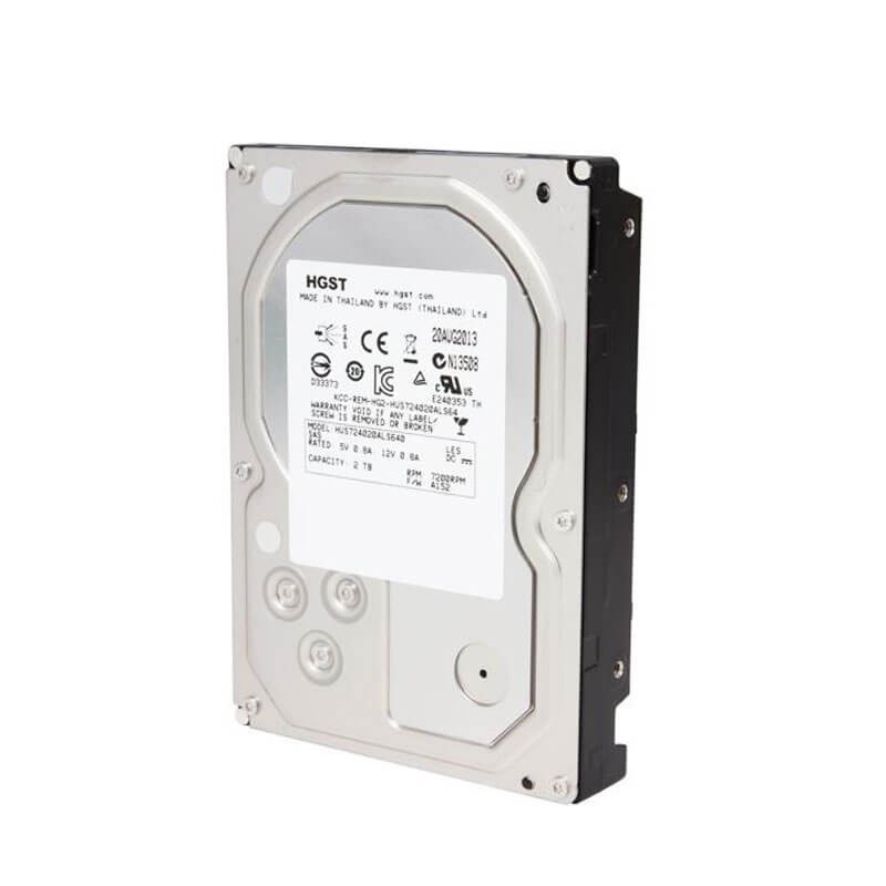 HDD Refurbished HGST HUS724020ALS640 2TB SAS 6Gbps 3.5 inch, 64 Mb Cache