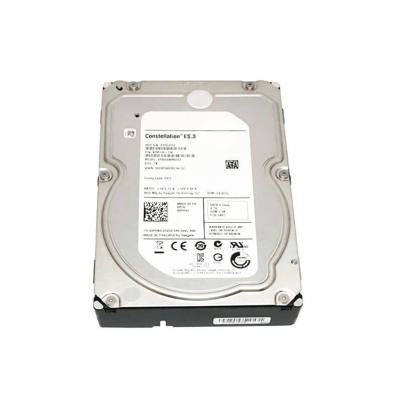 HDD Refurbished Seagate Constellation ES.3 4TB, 7200 RPM, SATA 3, 128MB Cache