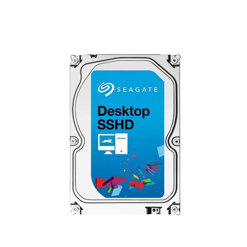 HDD Refurbished Seagate SSHD ST1000DX001, 1TB SATA3 6Gb/s, 64Mb Cache