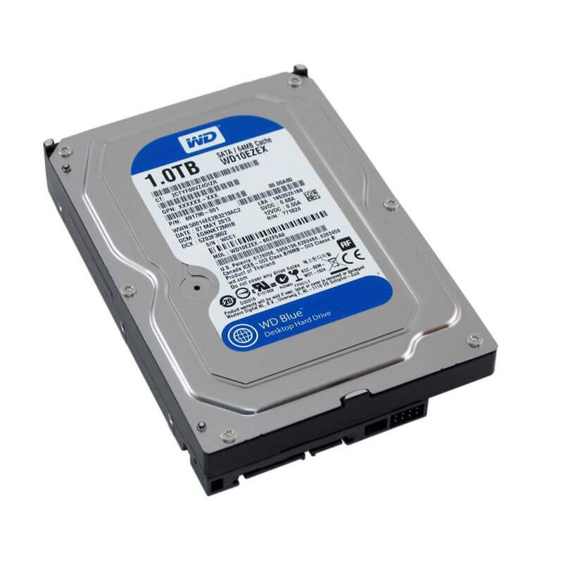 HDD Refurbished Western Digital WD10EZEX, 1TB SATA3 6GB/S, 64Mb Cache