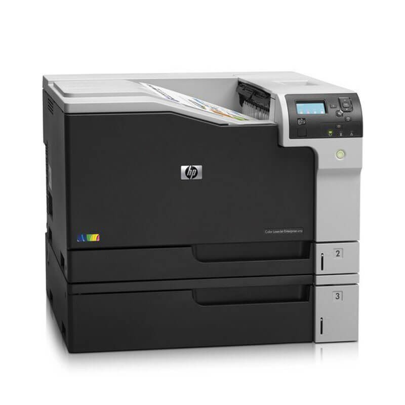 Imprimanta A3 Refurbished Color HP LaserJet Enterprise M750dn