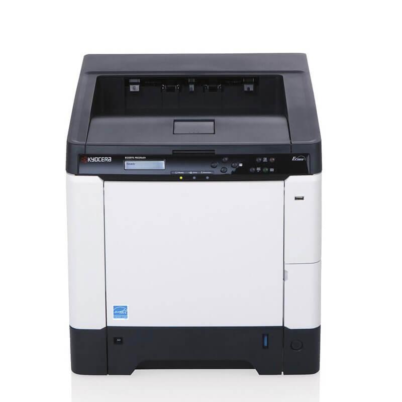 Imprimanta Laser Color Refurbished Kyocera ECOSYS P6026cdn, Toner Full