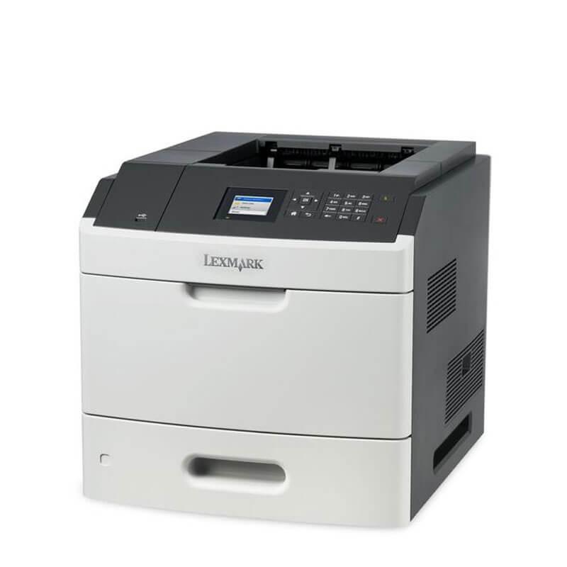 Imprimanta Laser Refurbished Lexmark MS811dn, Duplex, Retea Gigabit