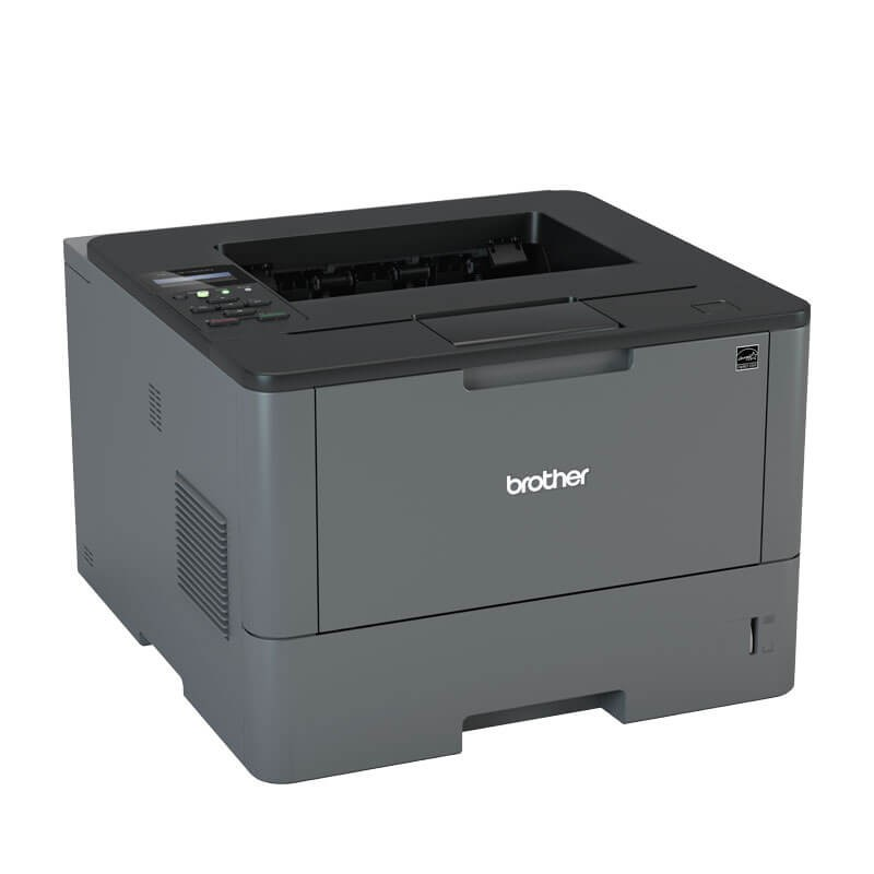 Imprimanta Refurbished Laser Monocrom Brother HL-L5100DN, Toner Full