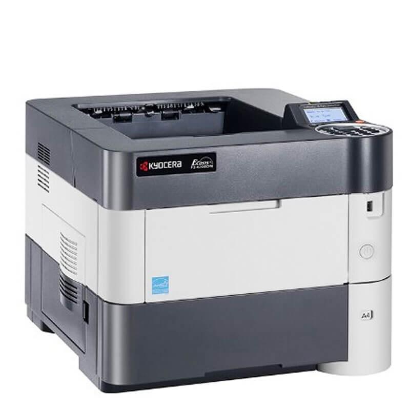 Imprimanta Refurbished Laser Kyocera Ecosys FS-4200DN, Toner Full