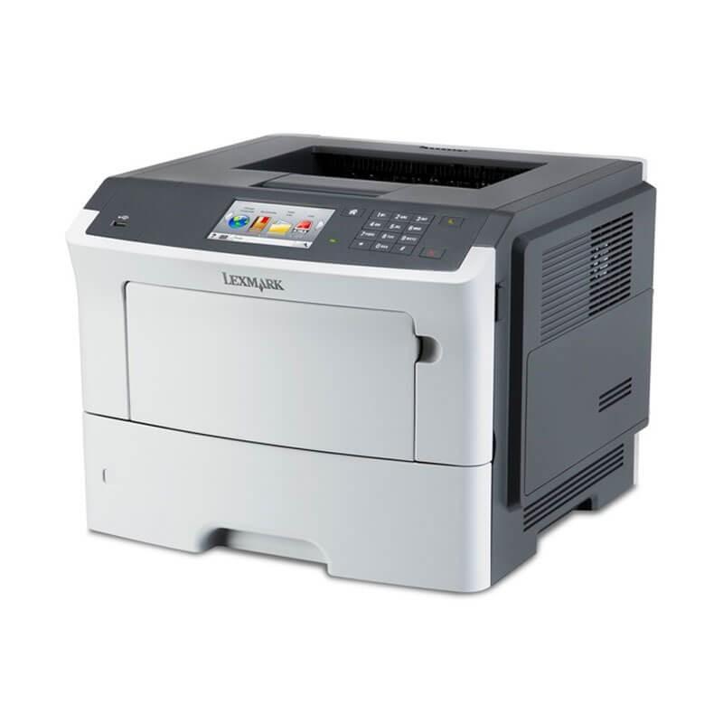 Imprimanta Refurbished Lexmark M3150, Duplex, Retea Gigabit, Toner Full