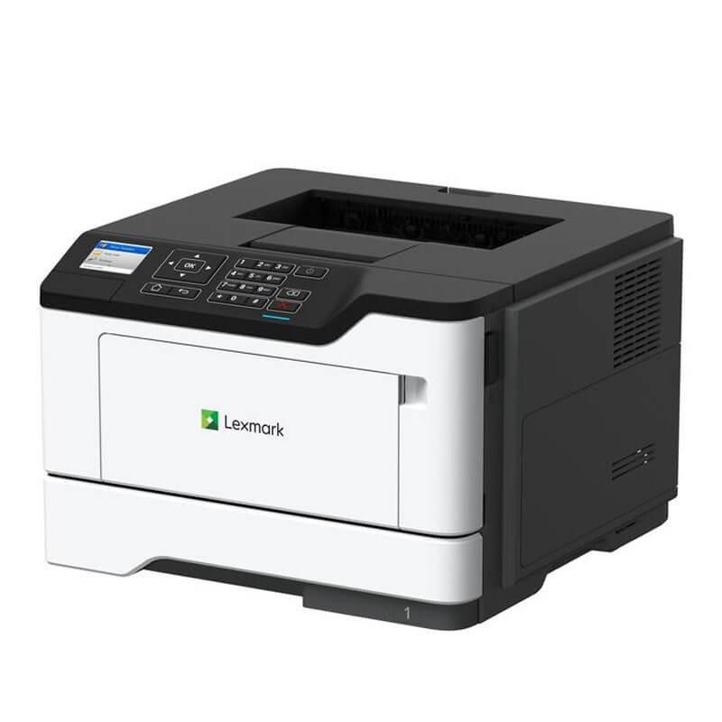 Imprimanta Refurbished Lexmark MS521dn, Duplex, Retea Gigabit, Toner Full