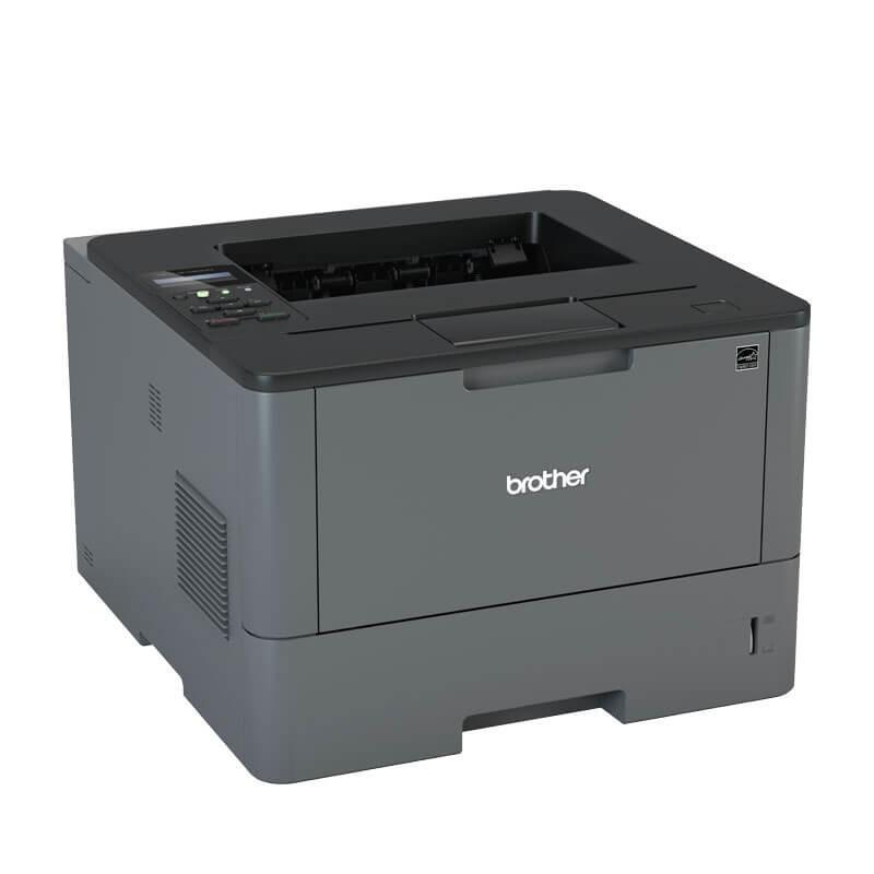 Imprimanta Refurbished Monocrom Brother HL-L5100DN, Cartus NOU Full
