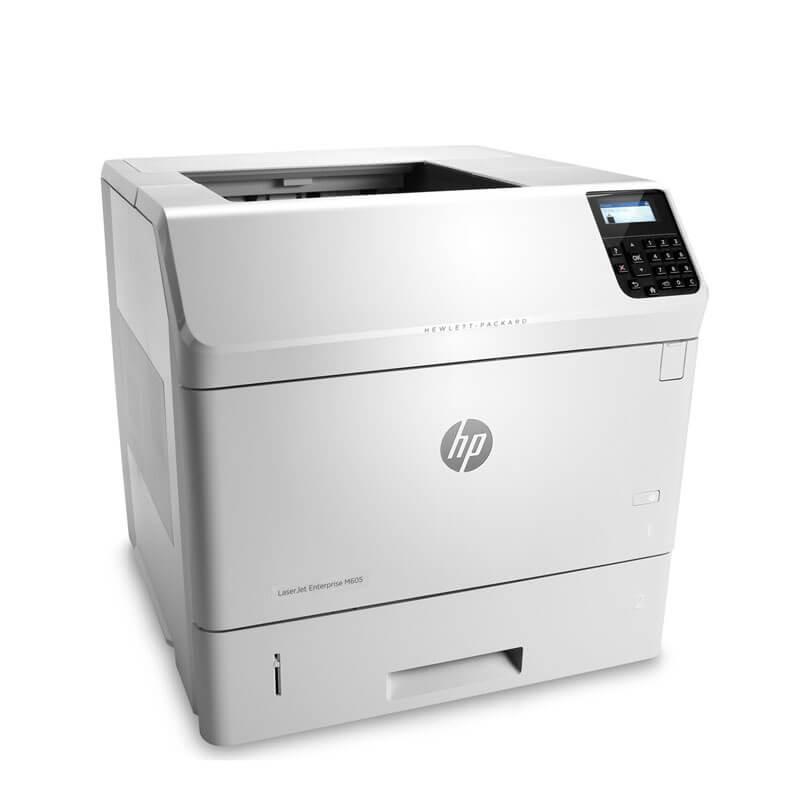 Imprimanta Refurbished Monocrom HP Laserjet Enterprise M605n