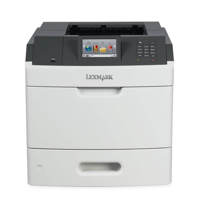 Imprimanta SH Lexmark M5163, Retea Gigabit, Duplex, Toner Full