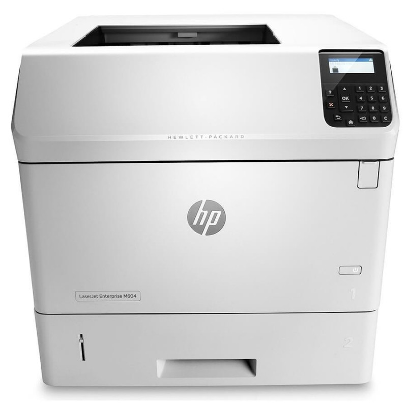 Imprimanta SH Monocrom HP Laserjet Enterprise M605n, Toner Full