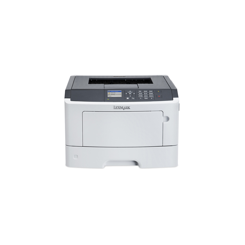 Imprimante Refurbished Laser Monocrom Lexmark MS415DN, Duplex, Retea, 38ppm