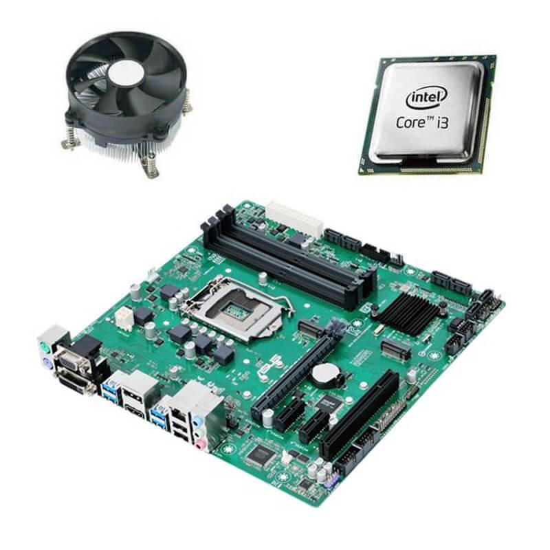 Kit Placi de baza Asus PRIME B250M-C, Intel Core i3-6100T, Cooler