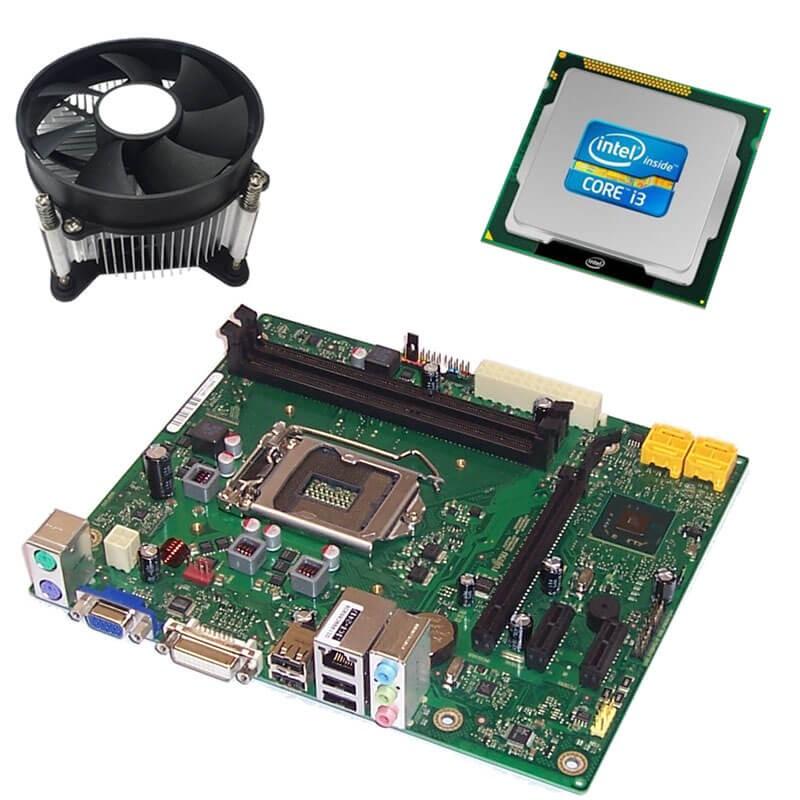 Kit Placi de baza Refurbished FUJITSU D2990-A11, Intel Core i3-2100, Cooler