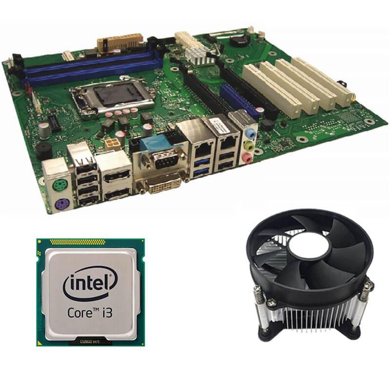 Kit Placi de baza Refurbished FUJITSU D3236-S1, Intel Core i3-4160, Cooler