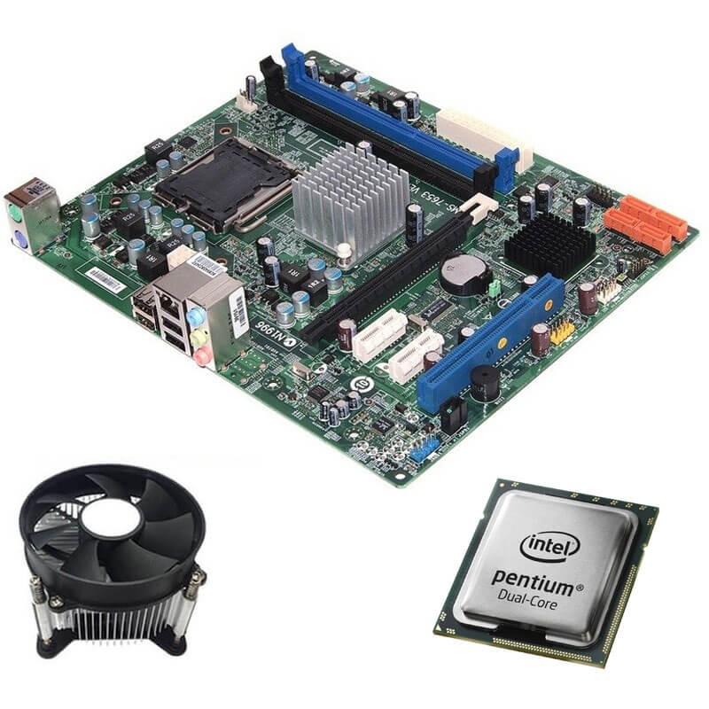 Kit Placi de baza Medion MS-7653, Intel Dual Core E5500, Cooler